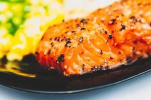鮭と酒粕のホイル焼き